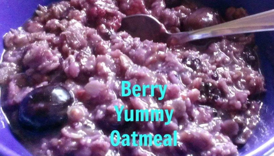 berry yummy oatmeal recipe