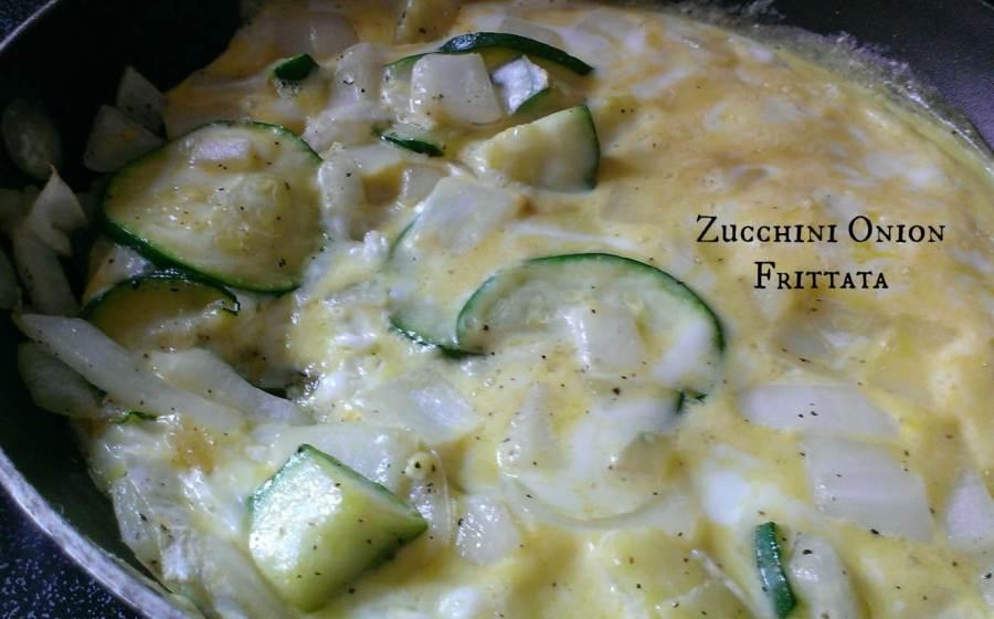 zucchini onion frittata recipe
