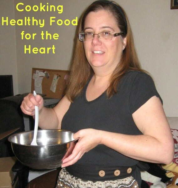 cooking healthy food for the heart