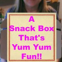 This Snack Box is Yum Yum Fun!!