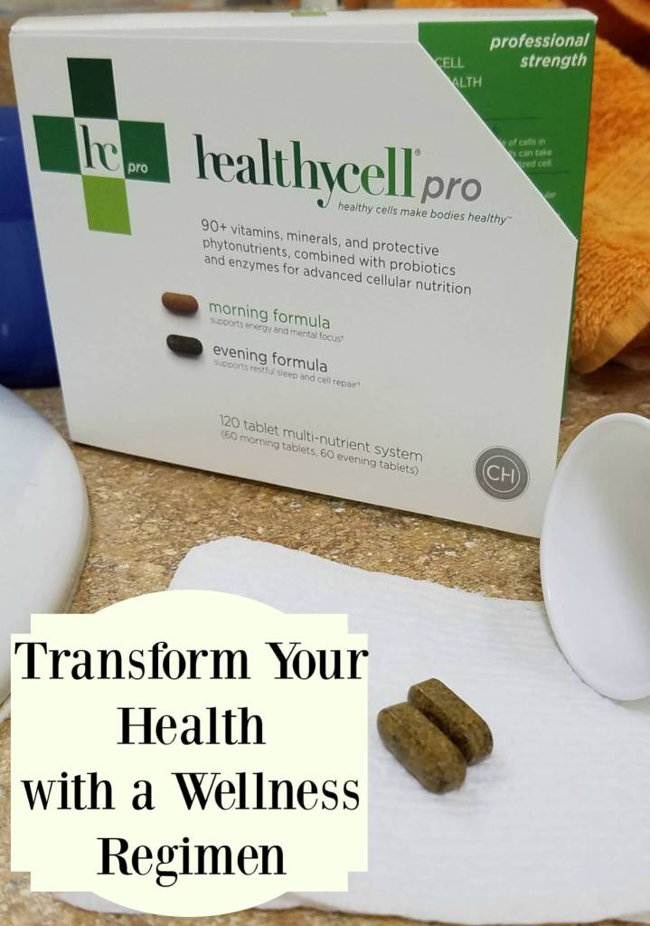 "healthy cell pro ""Transform Your Health With a Wellness Regimen"""