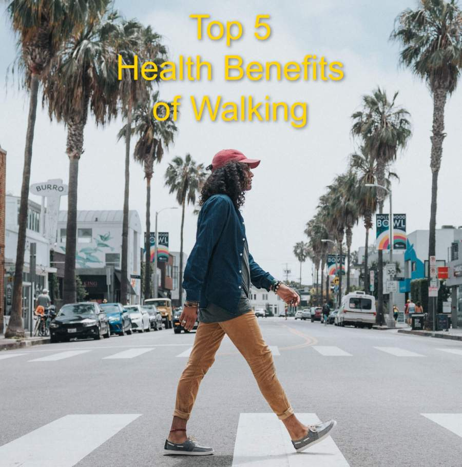 Top 5 Health Benefits of Walking