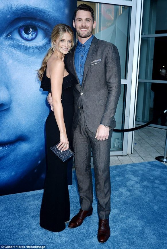 Kevin Love and Model Girlfriend Attend GOT Premiere ...