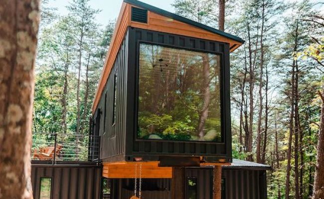 The Box Hop Airbnb Tour Shipping Container Home