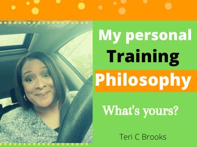 My Training Philosophy