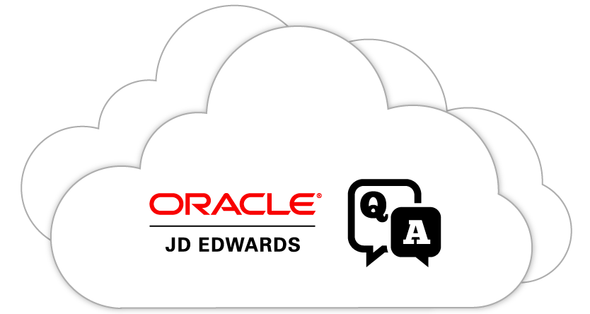 Frequently Asked Questions for JD Edwards EnterpriseOne in