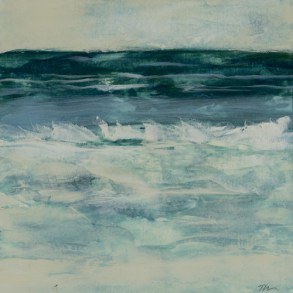 TM8603 Watching the Waves Come In #148 6x6 oil