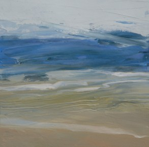 TM8716 Blue Sea 6x6 oil on paper