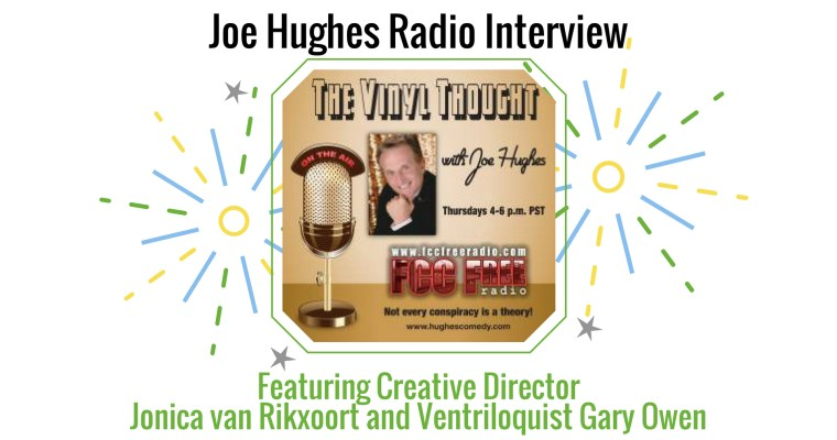 Radio interview with Joe Hughes and Gary Owen