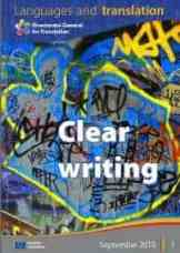 """Clear Writing"" in Languages and Translation"