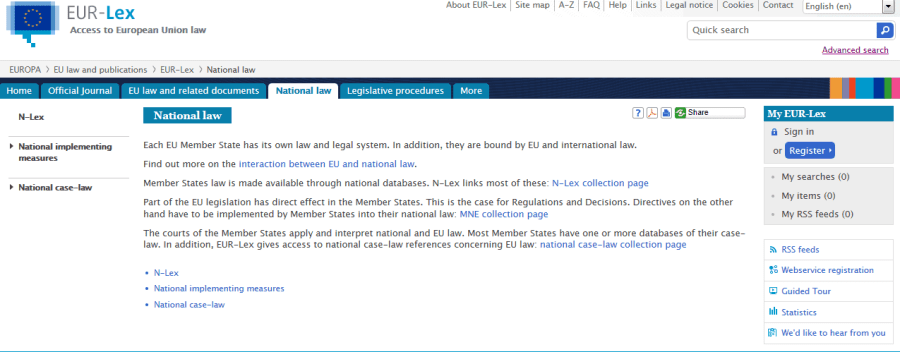 national law