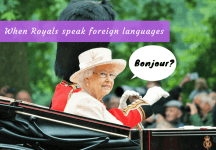 Video Fix: Royals speaking foreign languages