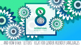 'x', '@' and how other 'letters' fight for gender friendly languages