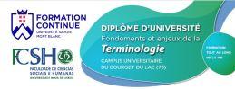 DU Terminologie - Université Savoie Mont Blanc