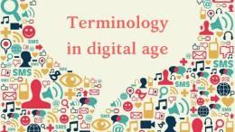 Terminology in digital age