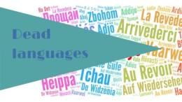 Dead languages