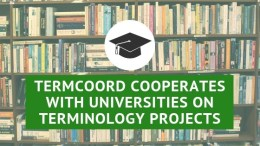 TermCoord cooperates with universities on terminology projects