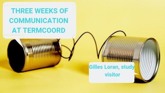 Gilles Loran TermCoord study visit