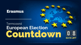 Termcoord European Election Countdown: Erasmus