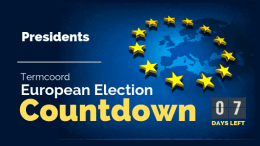 Termcoord European Election Countdown: Presidents