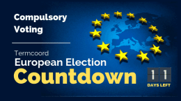 Termcoord European Election Countdown: Compulsory Voting