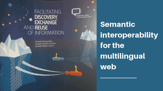 Semantic interoperability for the multilingual web