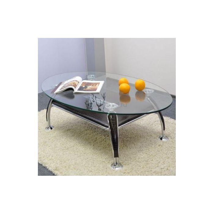 Стол журнальный A1119-1 лак коричневый