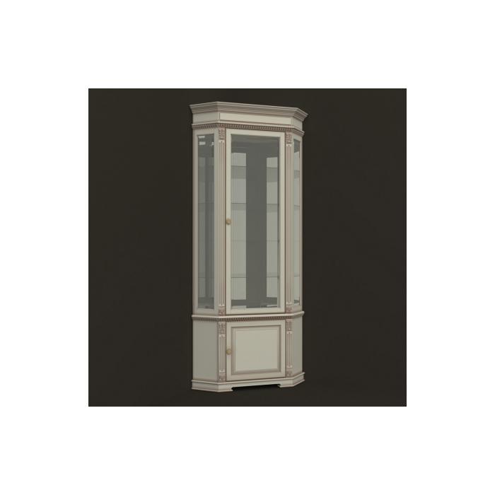 Витрина стеклянная угловая ВСУ-10-30 (54)