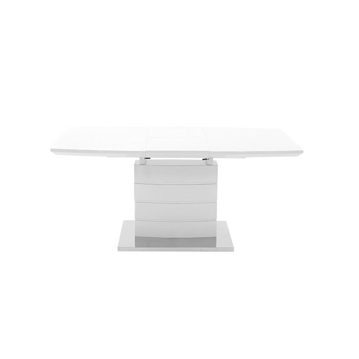 Стол обеденный DT211-1 140 стекло экстрабелое superwhite