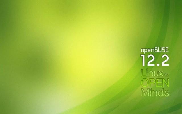 Wallpaper de lançamento openSUSE 12.2