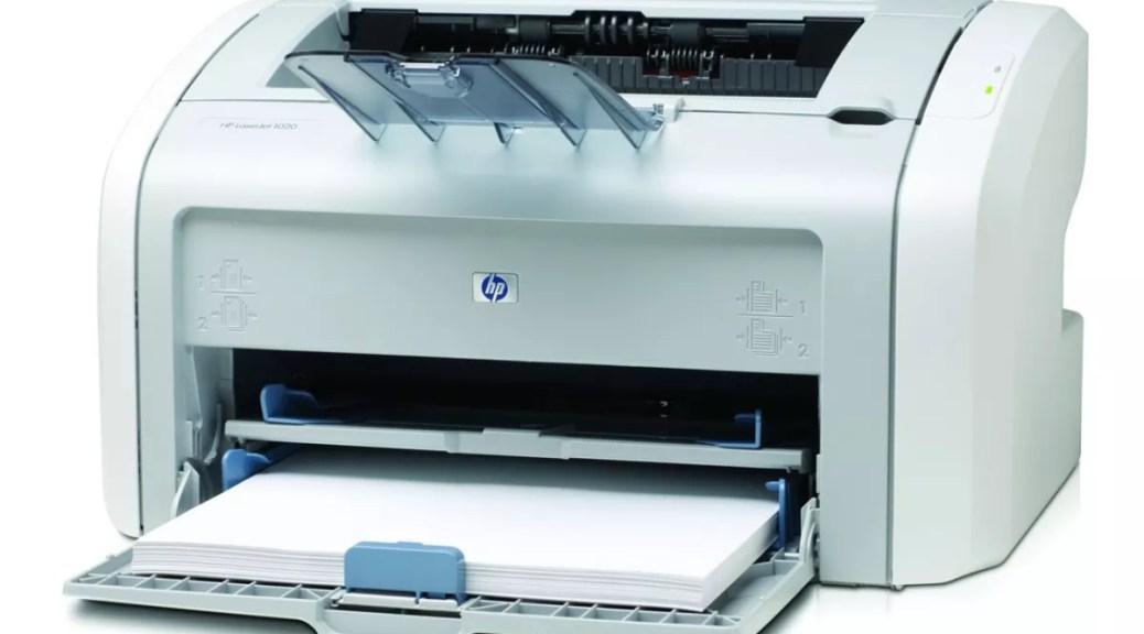 Impressora HP 1020