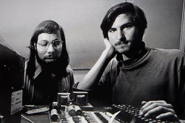 Steve Wozniak e Steve Jobs