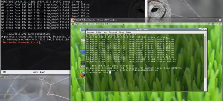 Criando conexão host-only no VirtualBox