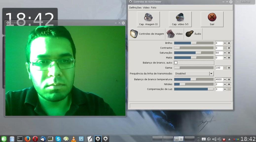 Imagem com tonalidade verde