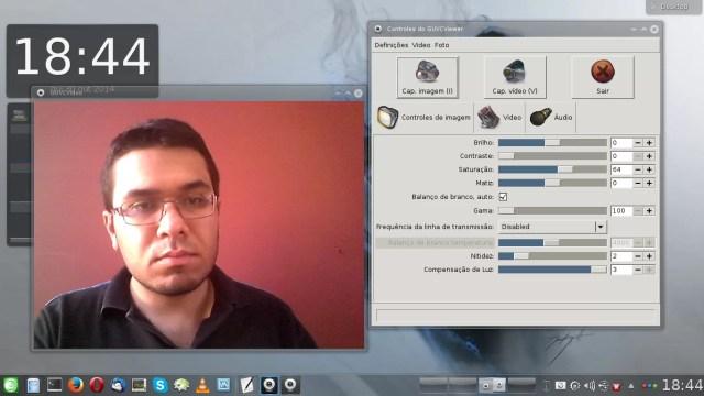 WebCam com imagem normal