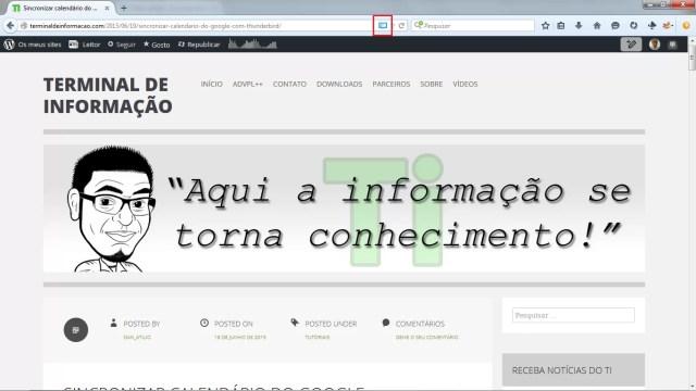 Botão de Leitura no Firefox