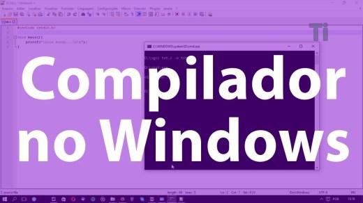 Compilador no Windows