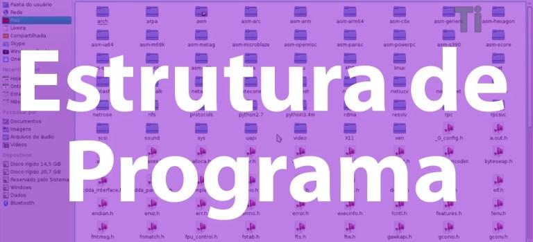 Vídeo Aula – Linguagem C – 003 – Estrutura de programas