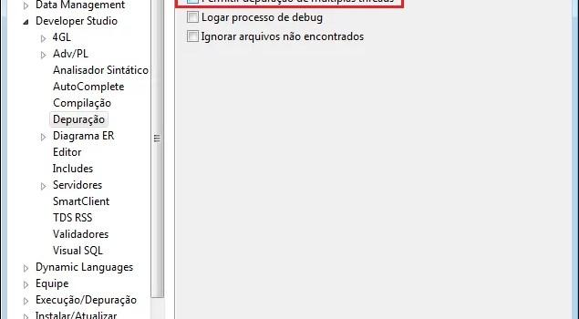 Como desabilitar o Multi Thread no TDS 11.3