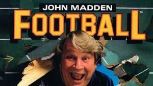 Capa do primeiro Madden