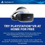 Some PS+ Members Getting Invited to try PS VR at ..