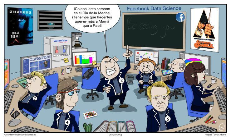 Términos y condiciones, Facebook y su sala de experimentos