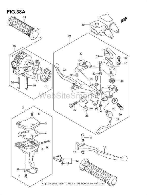 2003 Suzuki Ltz 400 Ignition Wire Diagram, 2003, Free