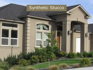 Synthetic Stucco outer covering
