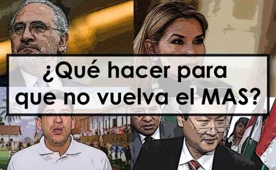 Candidatos presidenciales en Bolivia