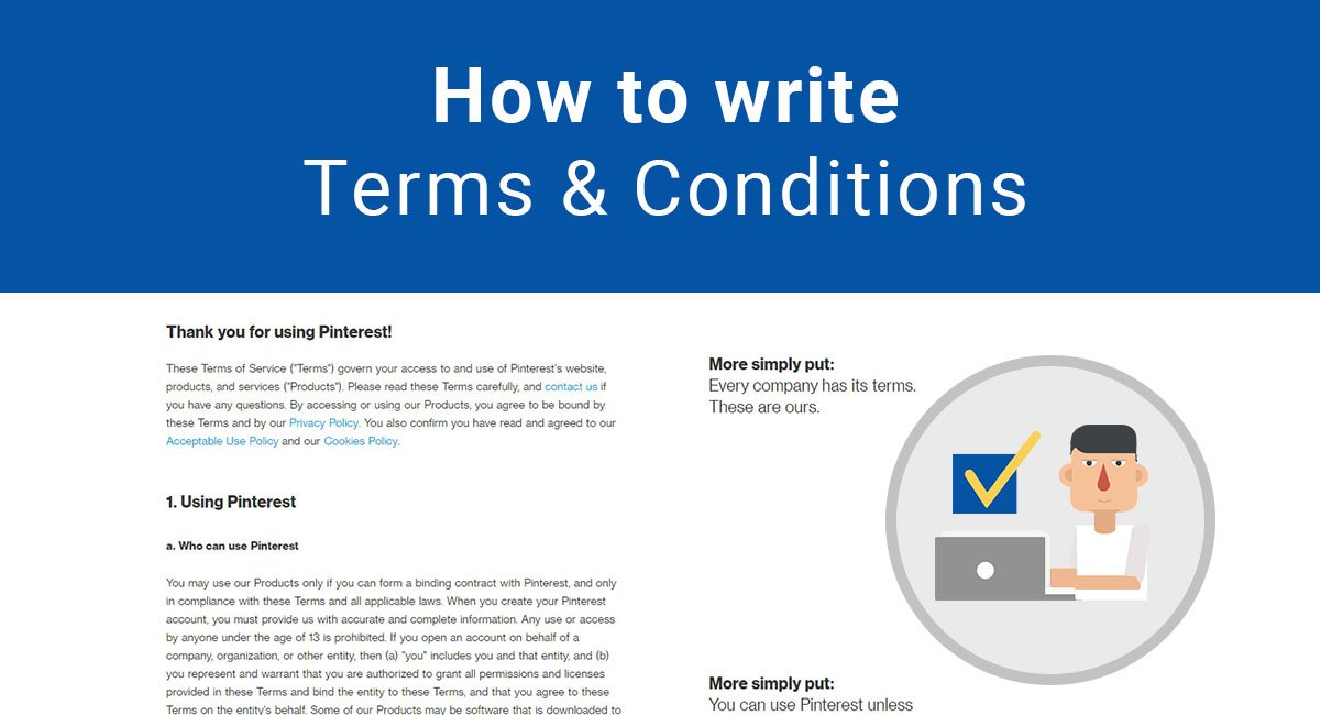 How to Write Terms  Conditions  TermsFeed
