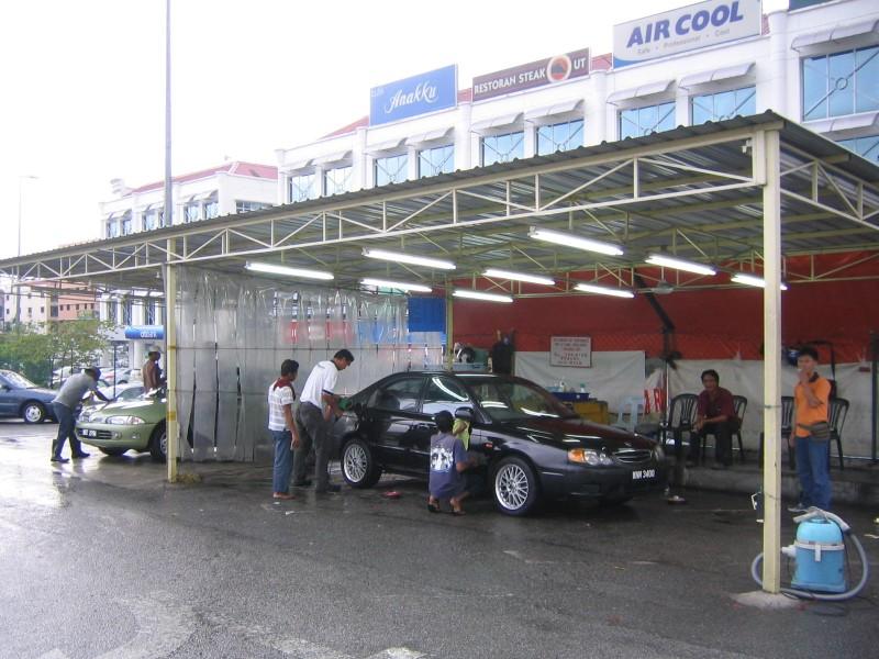Tempat Bisnis Cuci Mobil