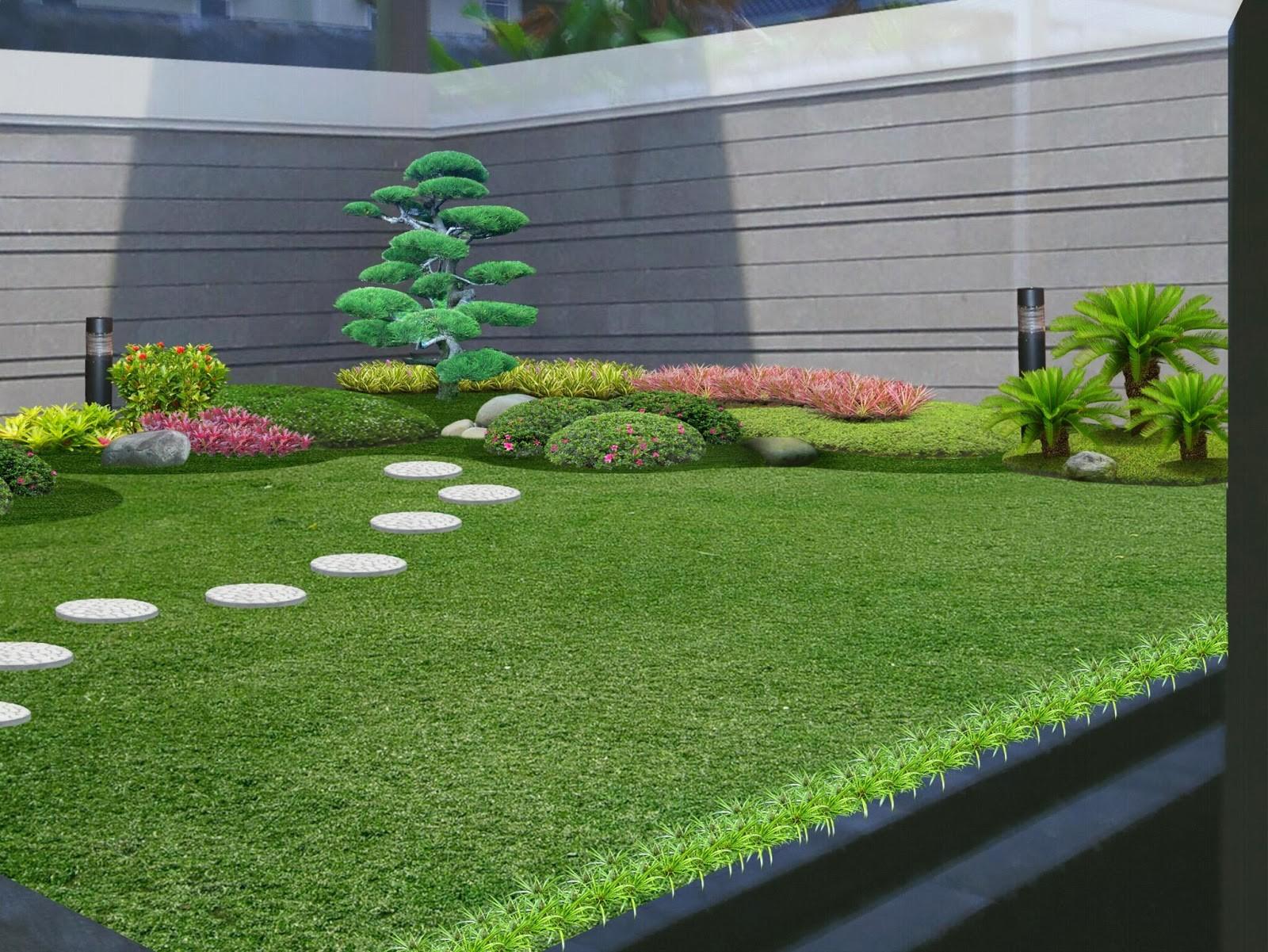 desain taman lahan sempit Luxury Desain Taman Minimalis Di Lahan Sempit