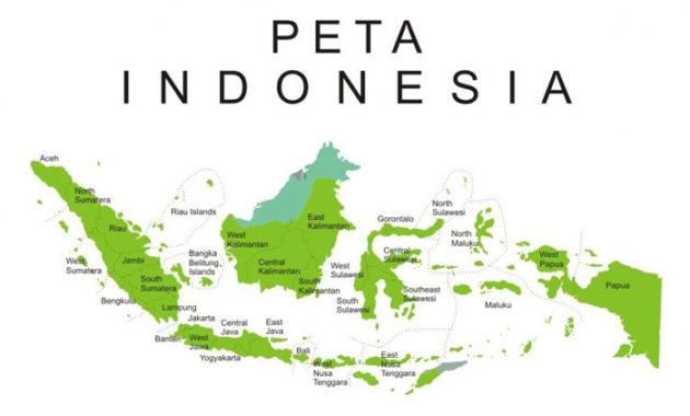 Gambar peta indonesia tanpa warna. Pengertian Peta Komponen Cara Membaca Dan Menggambar Peta Berita Pendidikan Sedang Trending