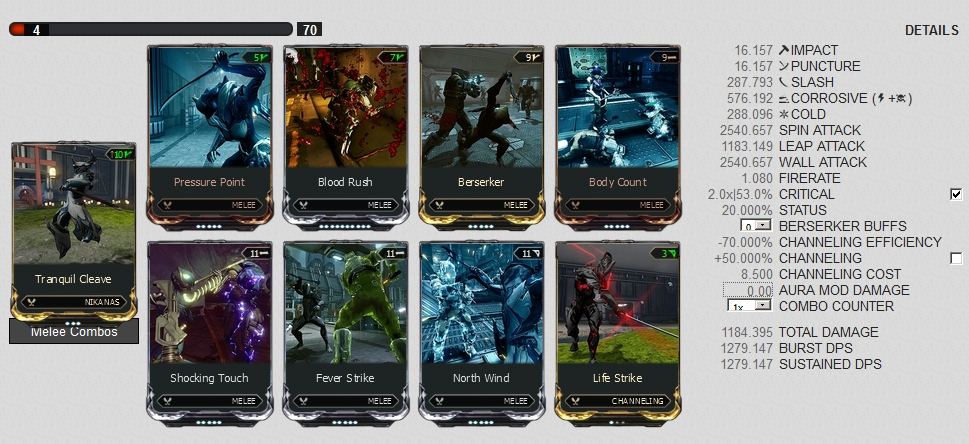 Nikana Prime Melee Only Build With Flex Slo Teror Of Death Homepage